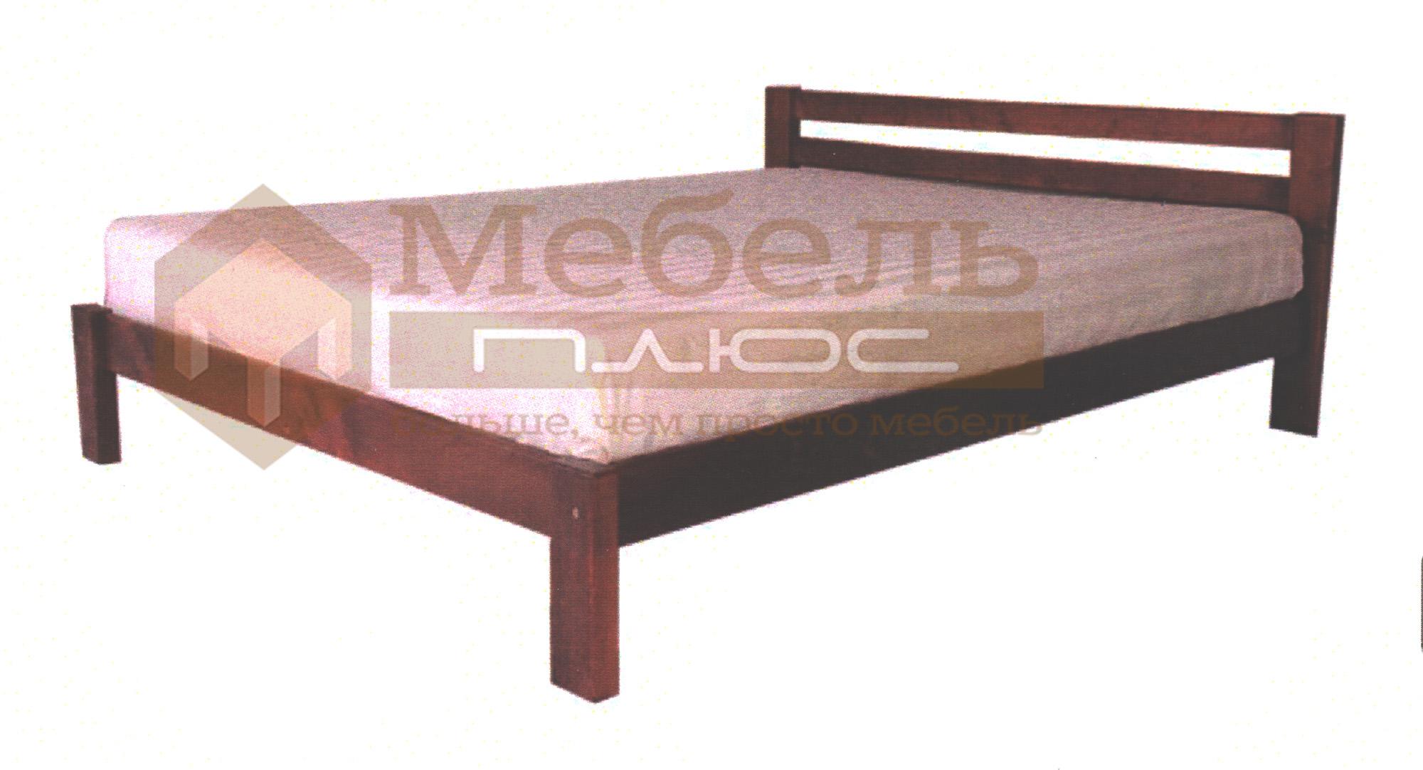 Кровать из массива дерева   магазине