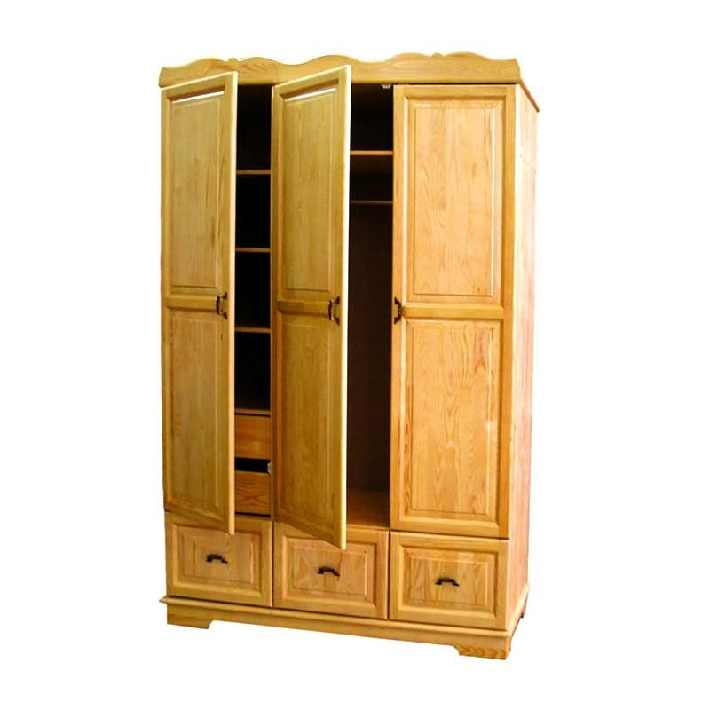 Шкаф 3х створчатый с ящиками - шкафы 3-х створЧатые - купить.